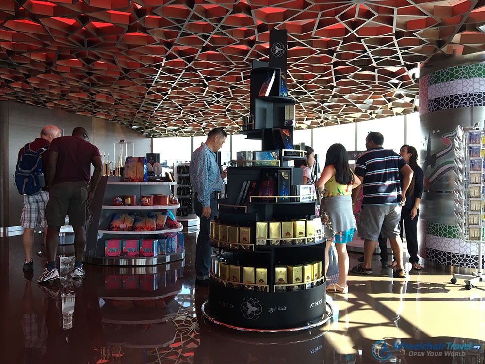 Burj Khalifa Gift Shop Level 125