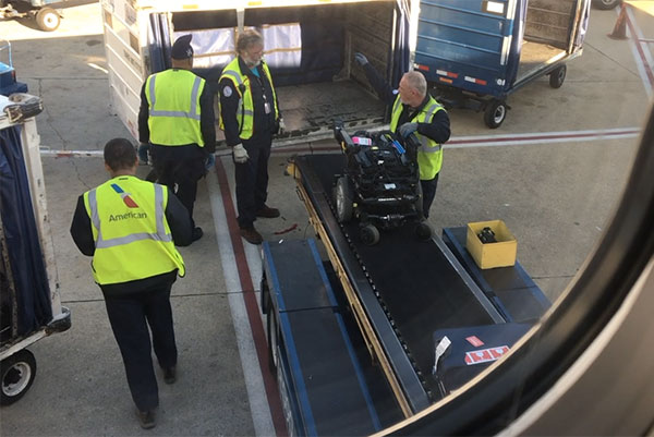 Transporting Power Wheelchairs on Airplanes