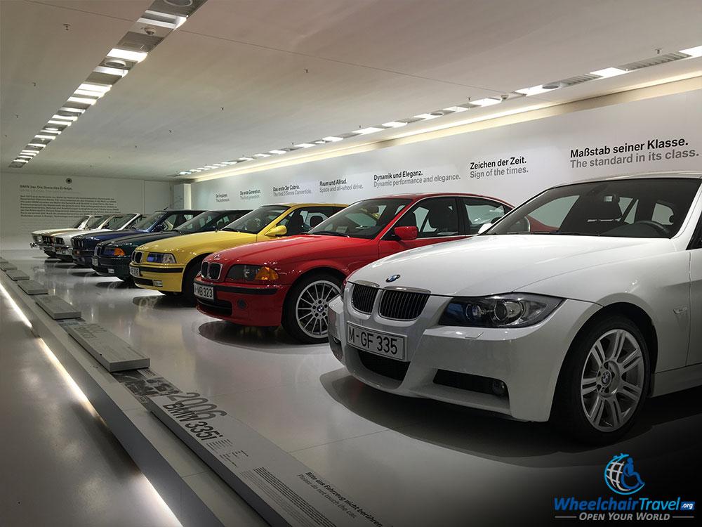 BMW Museum 300 Series Exhibit