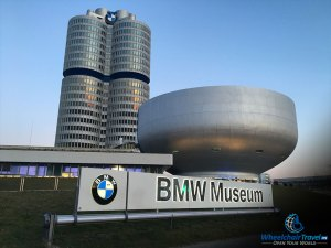 BMW Museum Building Wheelchair Access Review