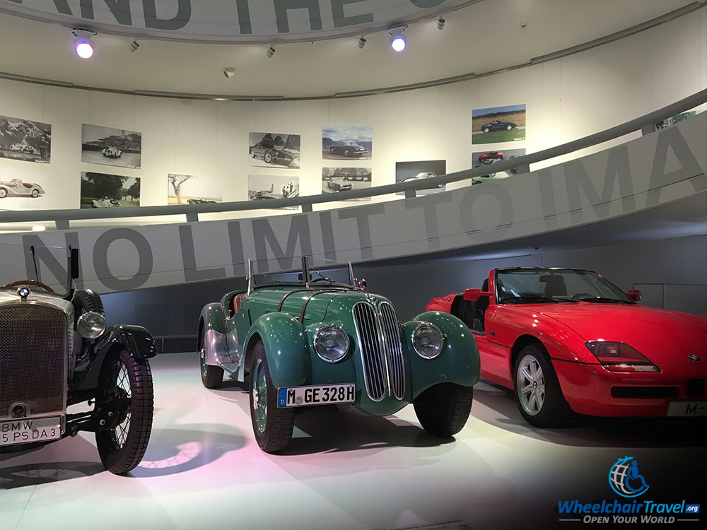 BMW Museum Exit Ramp