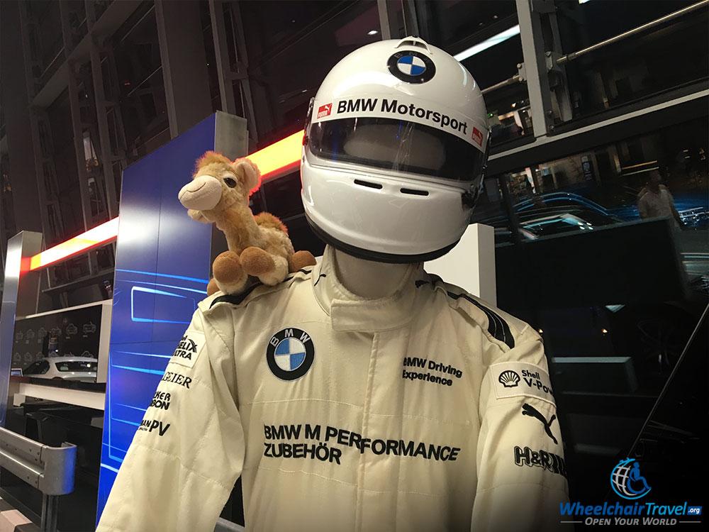BMW Welt Mannekin