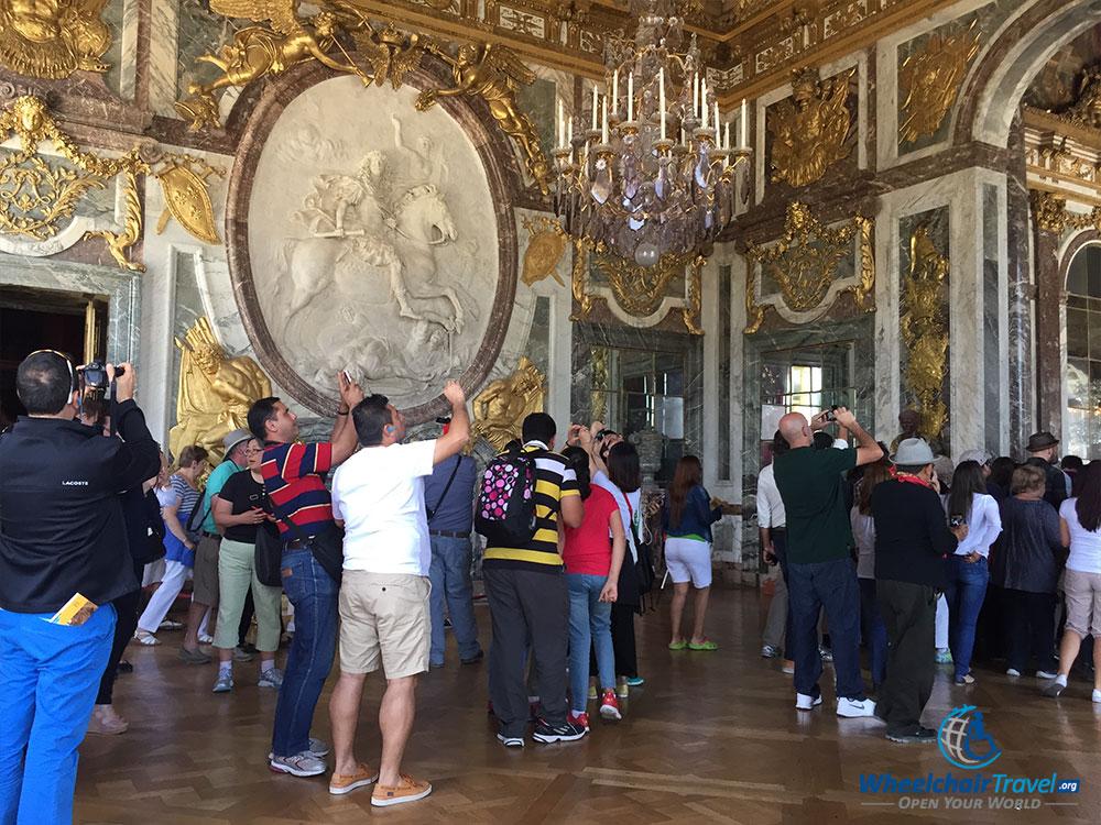 PHOTO DESCRIPTION: War Room, Palace of Versailles.