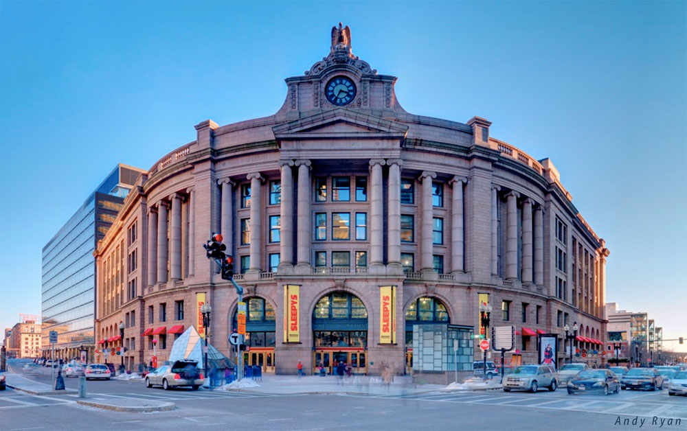 PHOTO by Andy Ryan: Boston South Station.