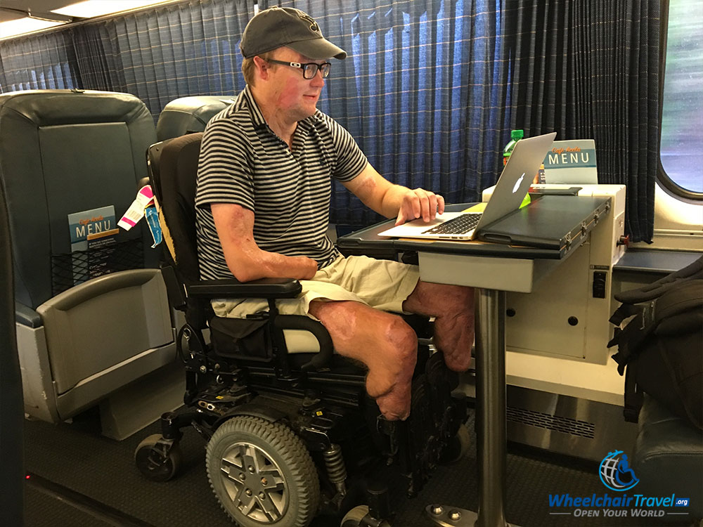 Review: Amtrak Acela Express High-Speed Train - WheelchairTravel.org