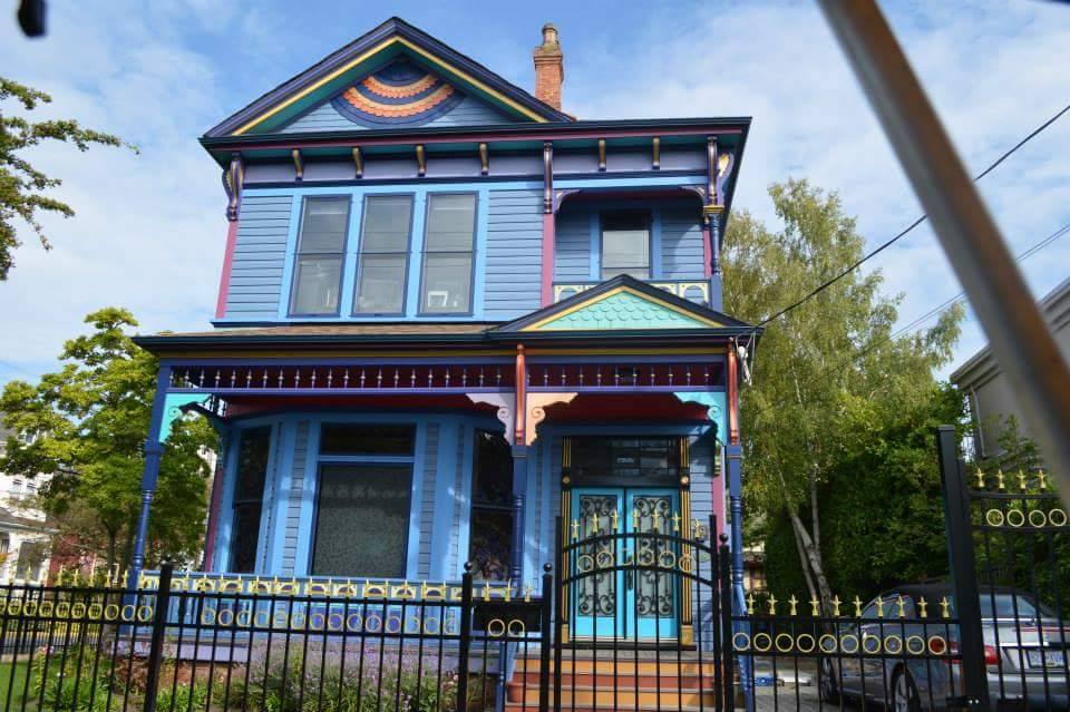 A house in Victoria, British Columbia, Canada