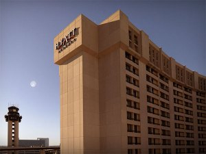 Hyatt Regency DFW International Airport Hotel building exterior
