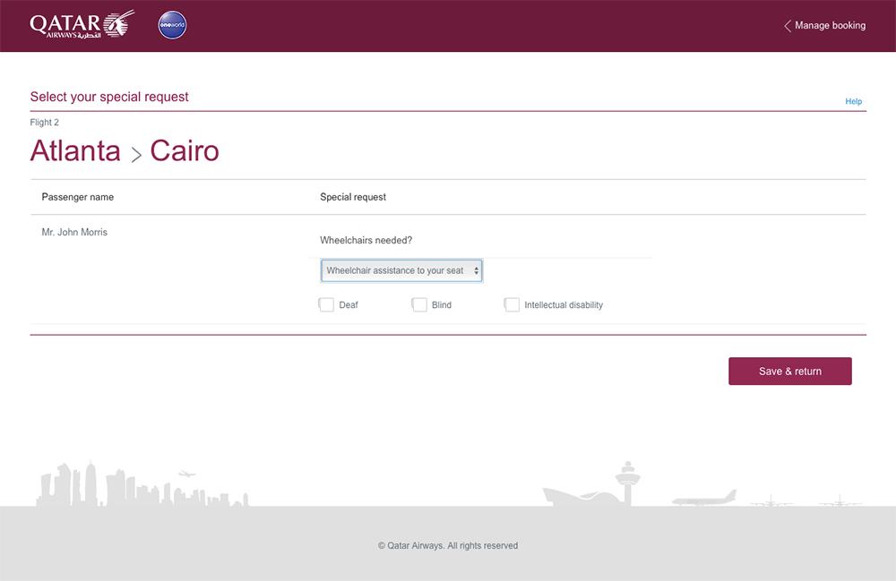 Traveling Around The World With A Wheelchair On Qatar Airways