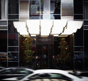 Park Hyatt New York building entrance