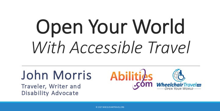 Title slide of my Abilities Expo workshop/powerpoint presentation.