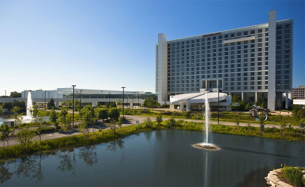 Renaissance Schaumburg Convention Center Hotel.