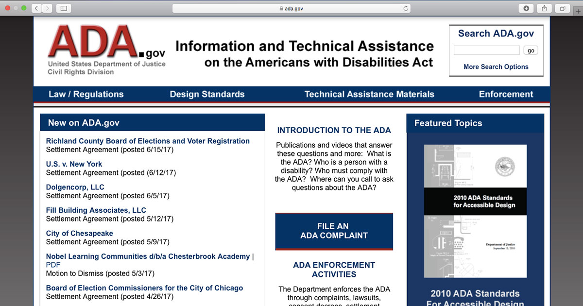 The Ultimate Disability Rights Resource Ada Wheelchairtravel