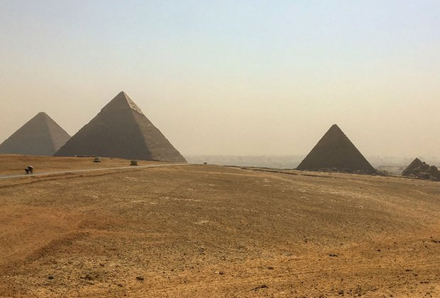 The Ancient Egyptian Pyramids of Giza