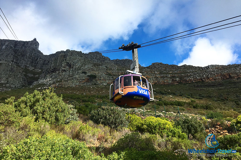 Table Mountain Aerial Tramway cable car
