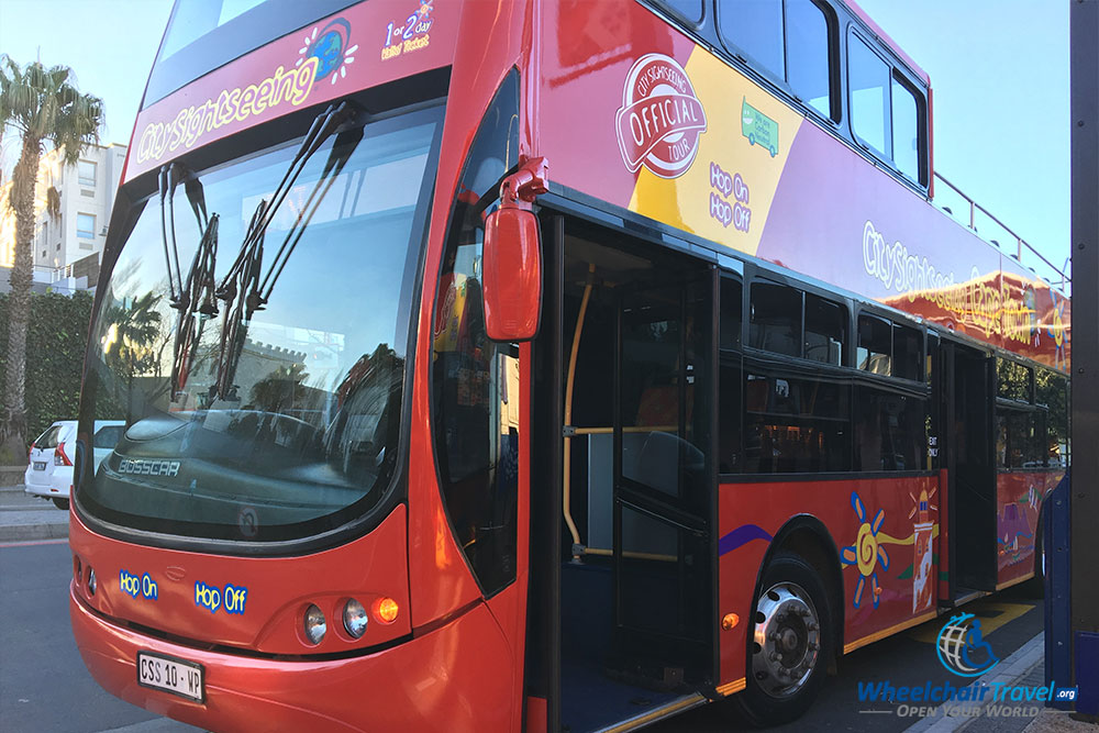 Cape Town City-Sightseeing tourist bus