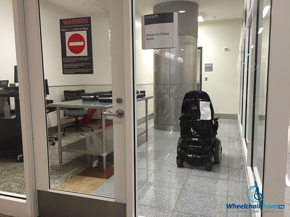 Power wheelchair stored at CBP after Delta Air Lines refused to return it at the aircraft & Why Airlines Take So Long To Return Gate-Checked Wheelchairs