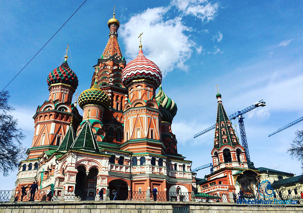 St. Basil's Cathedral is the most eye-catching component of Moscow's Red Square.