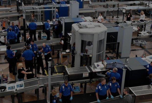 TSA Airport Security checkpoint