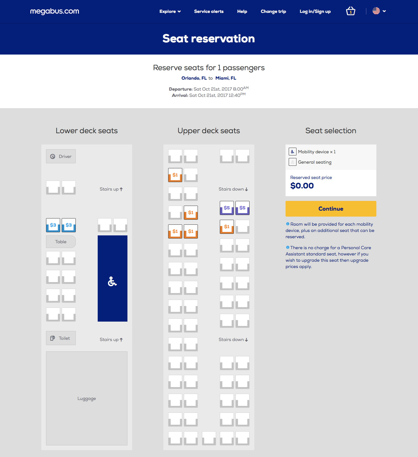 Megabus-booking-seating-chart