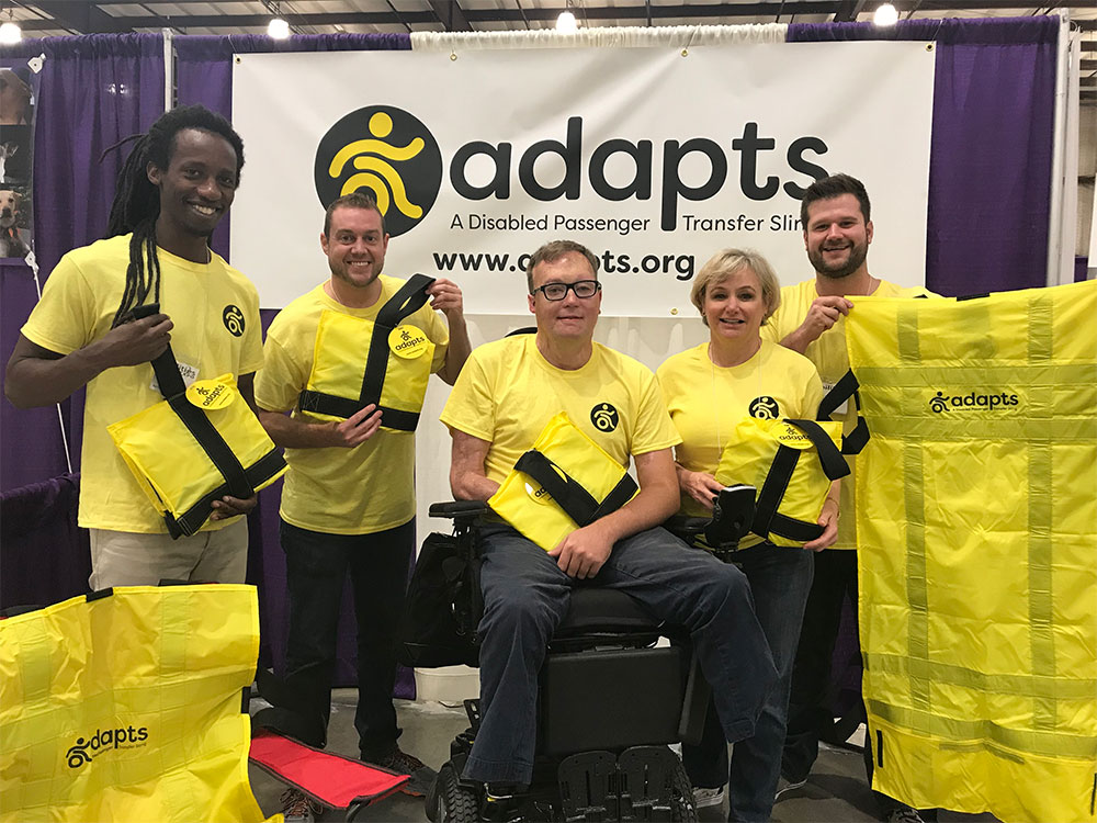 ADAPTS Team & supporters at the Abilities Expo in San Mateo, California.