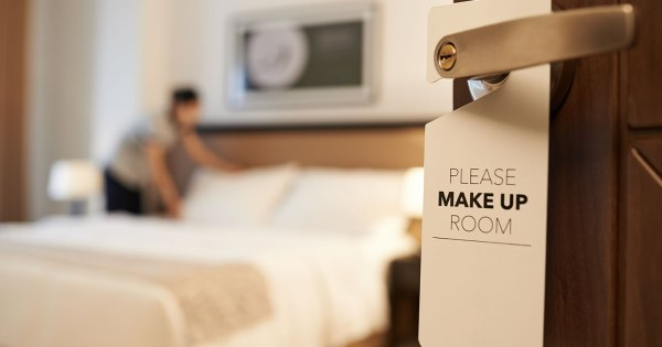 What is the etiquette for tipping hotel housekeepers?