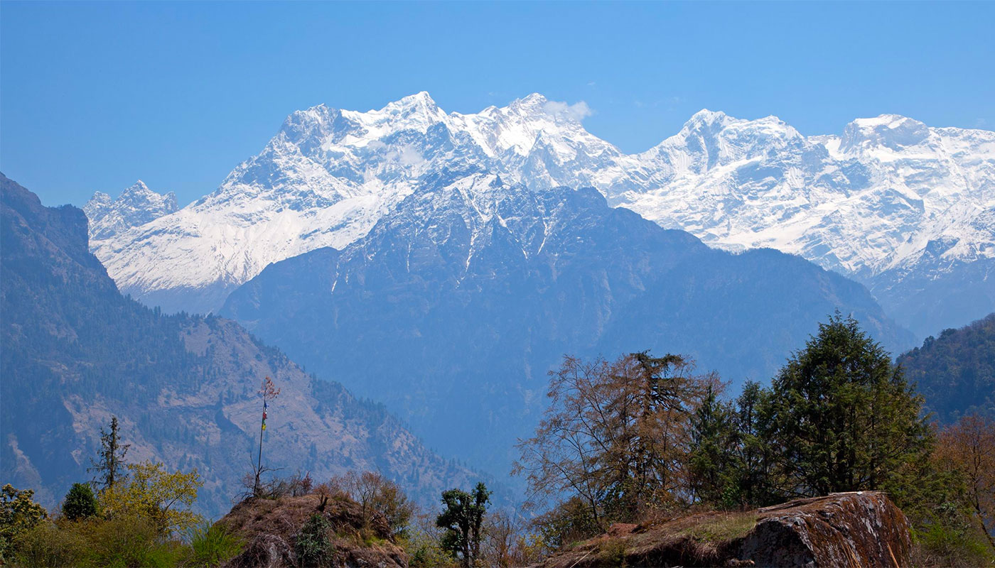 Wheelchair accessible trail opens in Nepal, Himalayan Mountains.