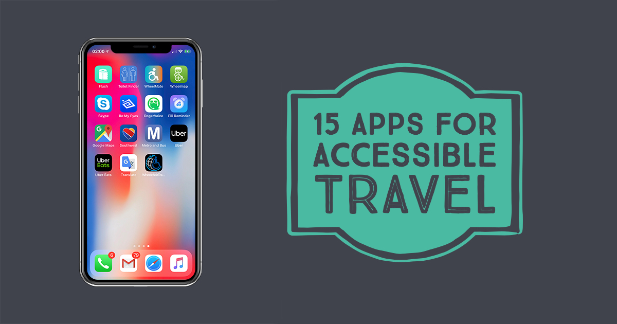 15 Smartphone Apps for Travelers with Disabilities ... on education app, mobile app, my google maps, animation app, google app, events app, goanimate app,