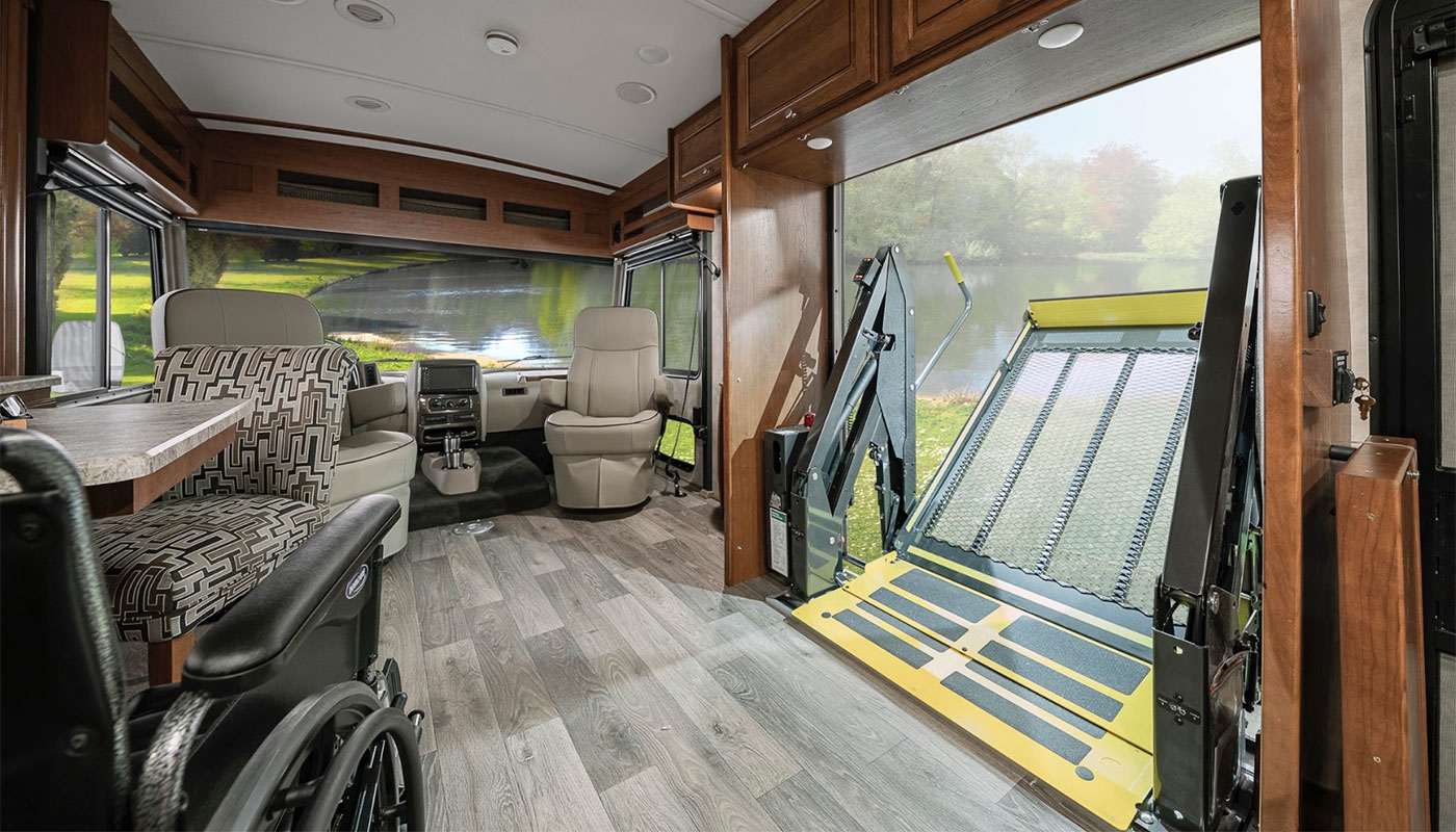 Wheelchair accessible Winnebago RV
