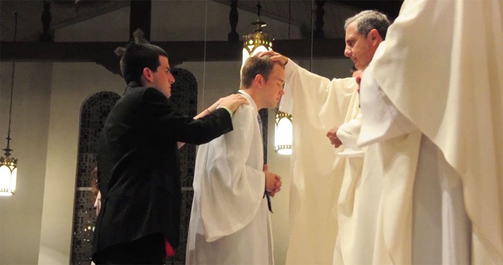 My confirmation into the Roman Catholic Church.