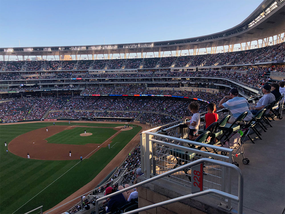 ADA seats in section 227.