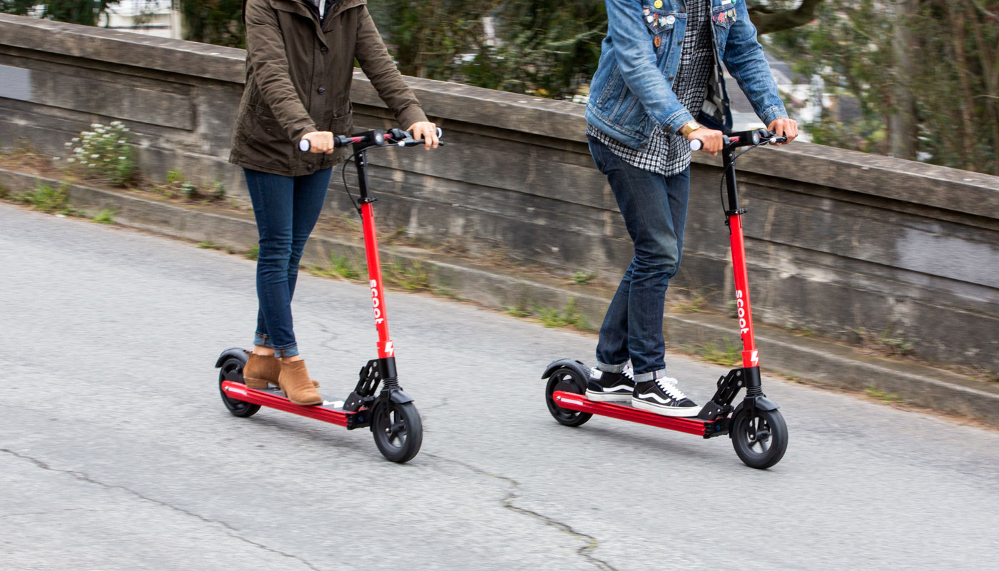 E-scooters expanding to more cities.