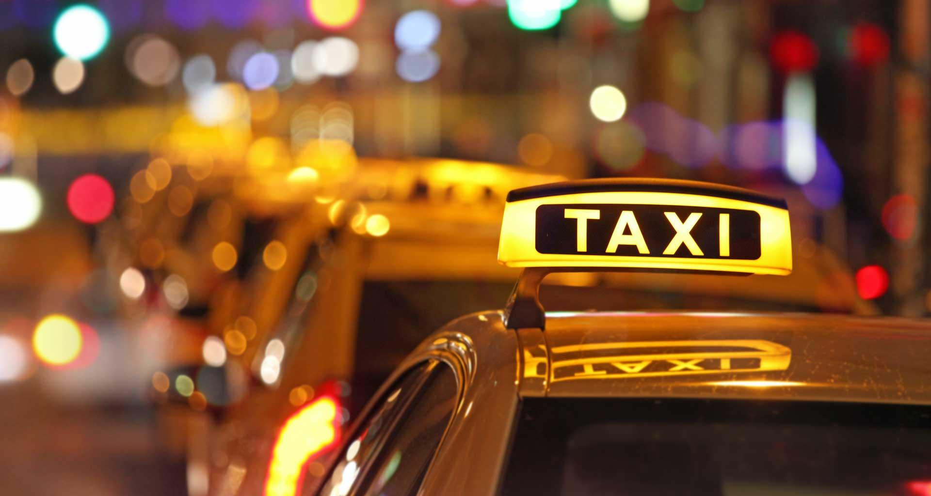 Wheelchair taxi transportation in Rio de Janeiro.