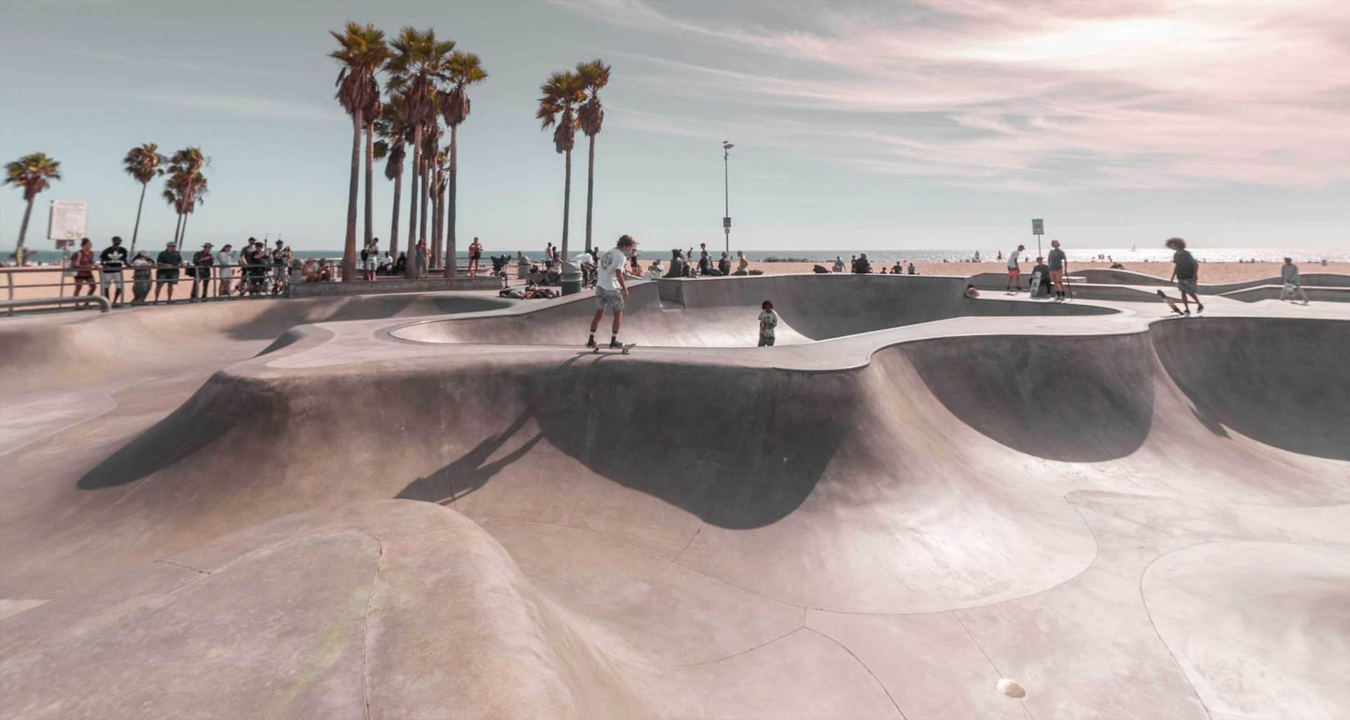 California skate park.