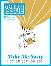 Image result for take me away big issue fiction edition
