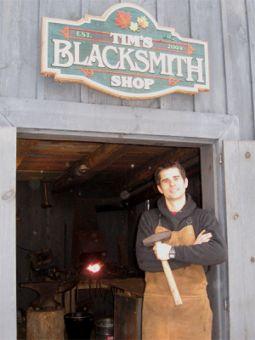 Tim Wheeler at shop