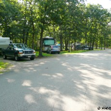 SP Campground Rating – Knob Noster State Park, MO