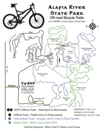 Biking trail map -> click for larger size