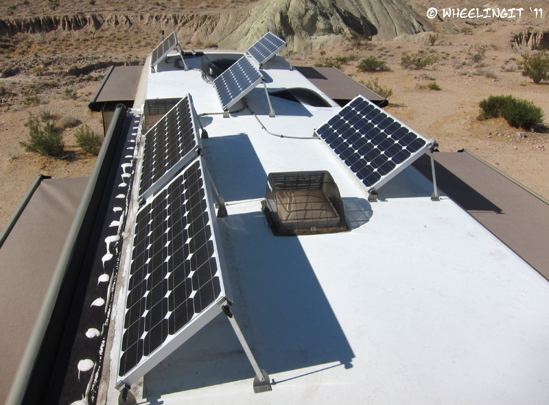 Rv Solar Part Iv Panel Tilting Amp Winter Solar