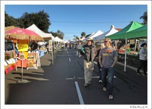 Walking the Hillcrest Farmer's Market with Alex & Ellen