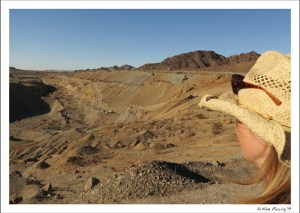 American Gold Mine just west of Yuma