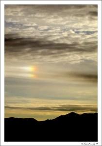 Sunrise rainbow