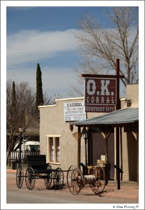 The OK Corral...at least the show location