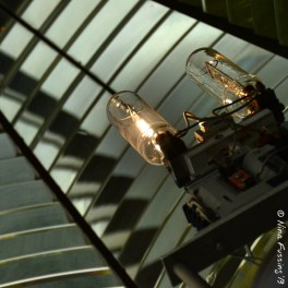 Looking into the Fresnel lens