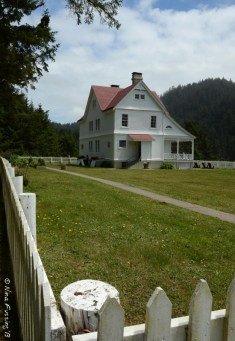 The lighthouse keepers house, now a B&B