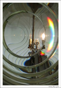 You can lose yourself in the Fresnel lens