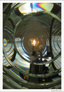 I never get tired of the Fresnel lens