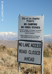 Beware of areas owned by LA Water Department. These are clearly signed & don't allow camping.