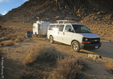 'Tis a fine set-up for boondocking!
