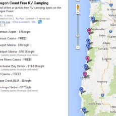 5 Ways To RV The Oregon Coast For FREE! (Or Almost Free)