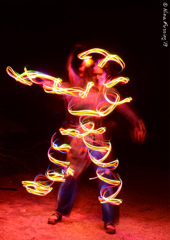 Medusa on Fire!